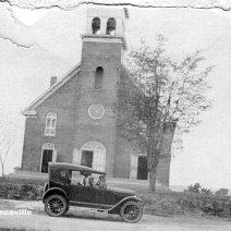 Eglise Saint-Laurent, Lawrenceville Qc dans les années 1920